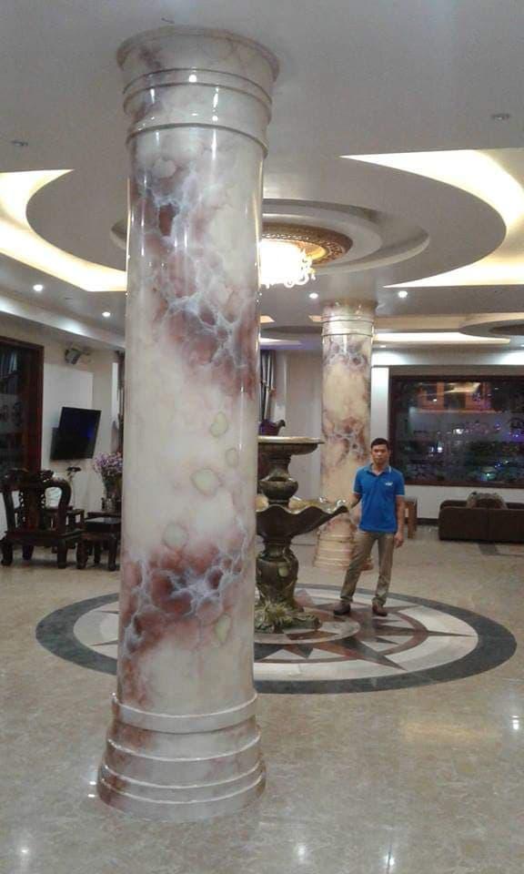 cột giả đá cẩm thạch đẹp tại tphcm