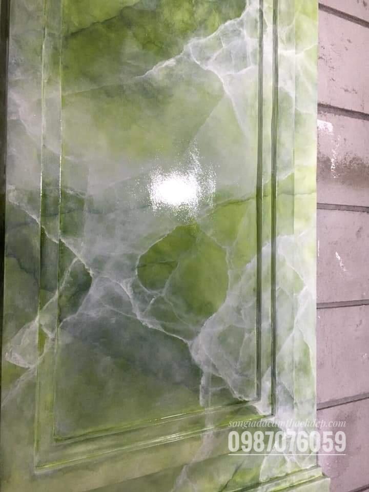 cẩm thạch giả đá xanh 1