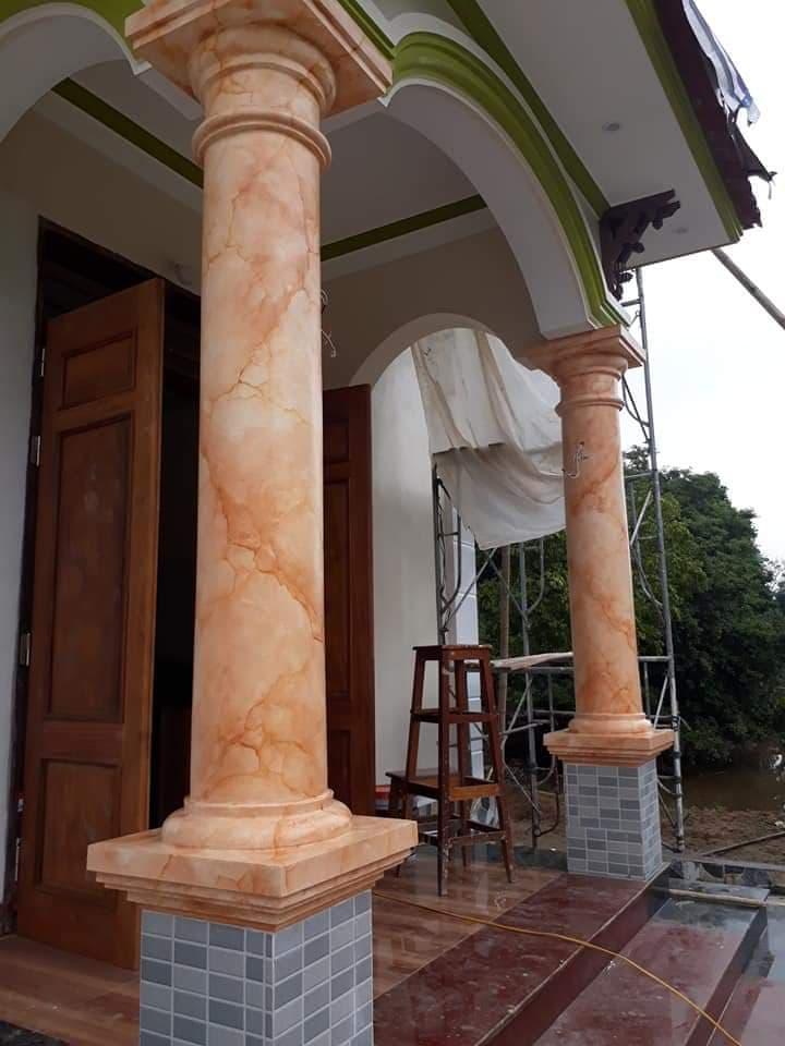 cột giả đá cẩm thạch tại biên hòa