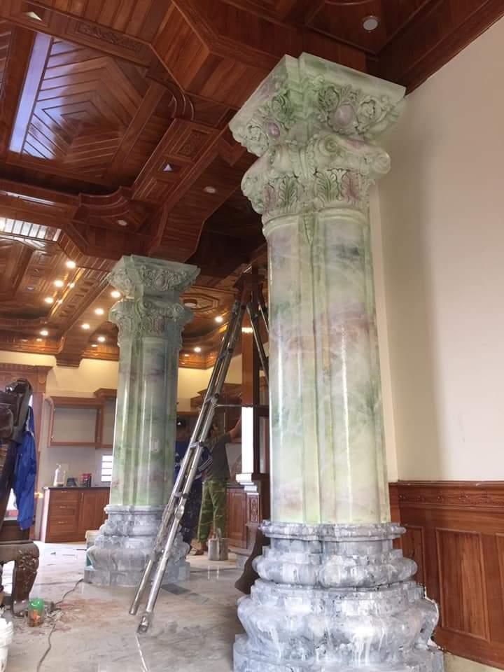 cột giả đá cẩm thạch 5