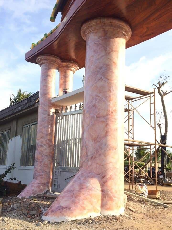 cột giả đá cao cấp biên hòa