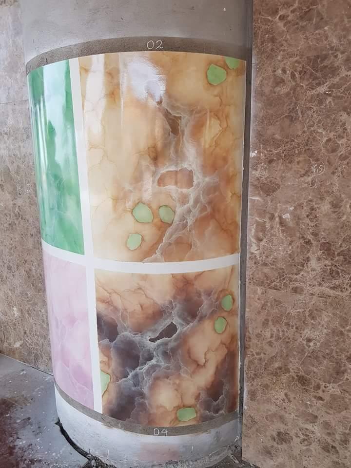 mẫu sơn giả đá cẩm thạch 3d