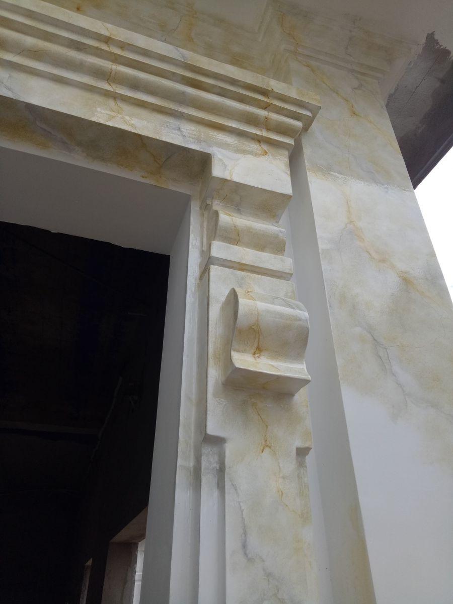 sơn giả đá cẩm thạch biên hòa