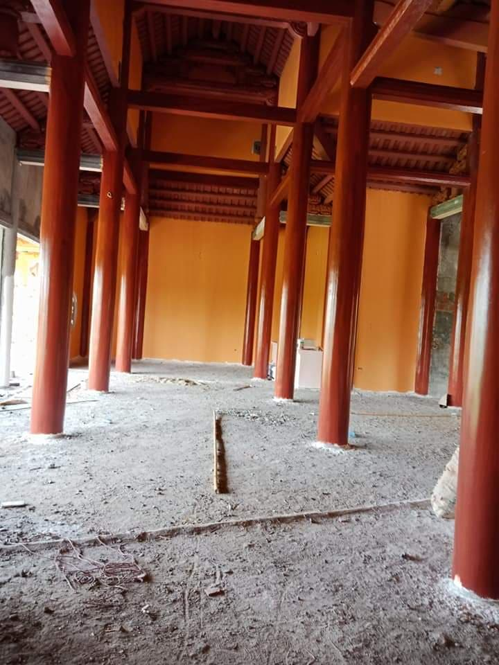 cột giả gỗ