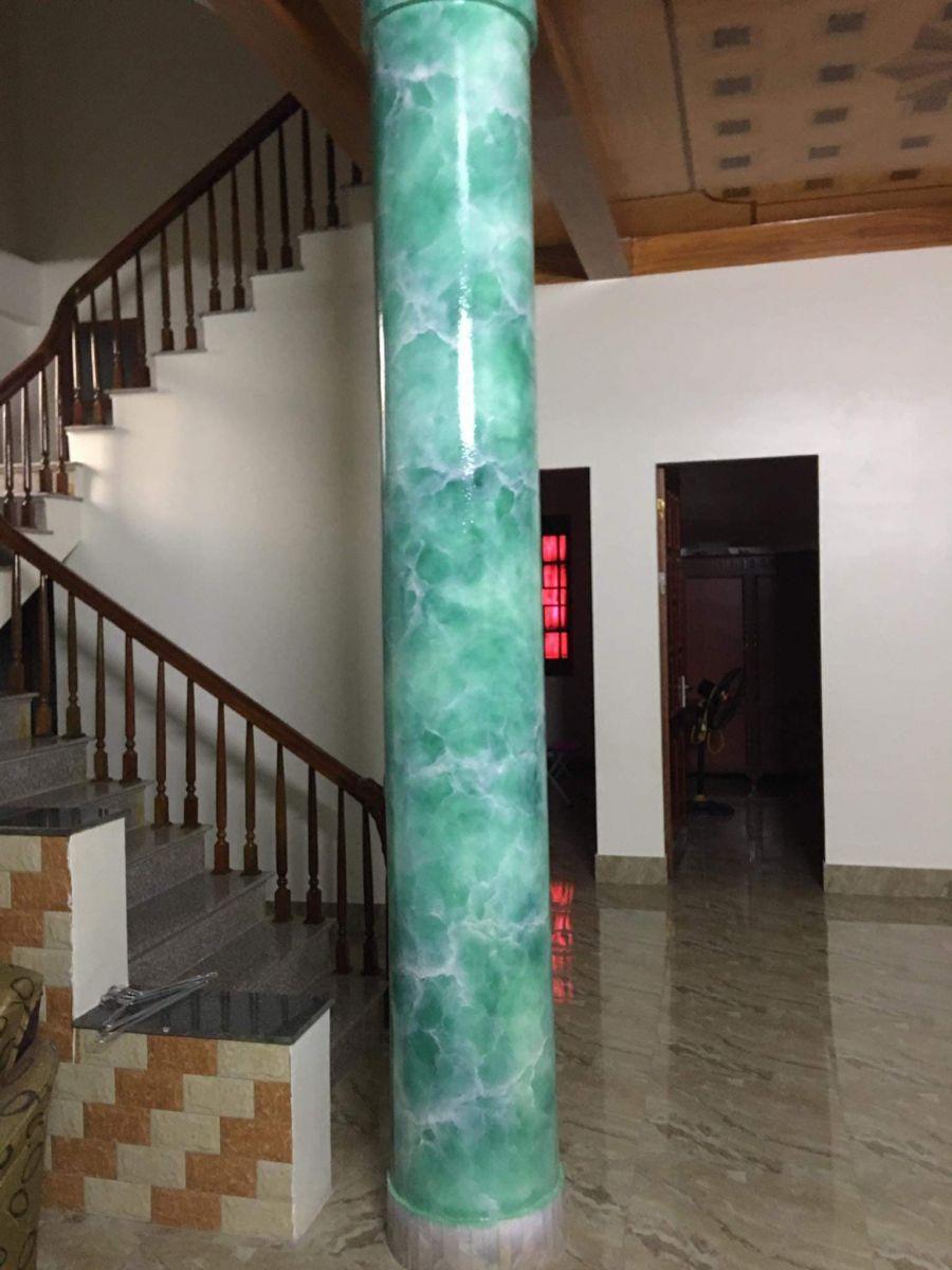 cột giả đá cẩm thạch đẹp