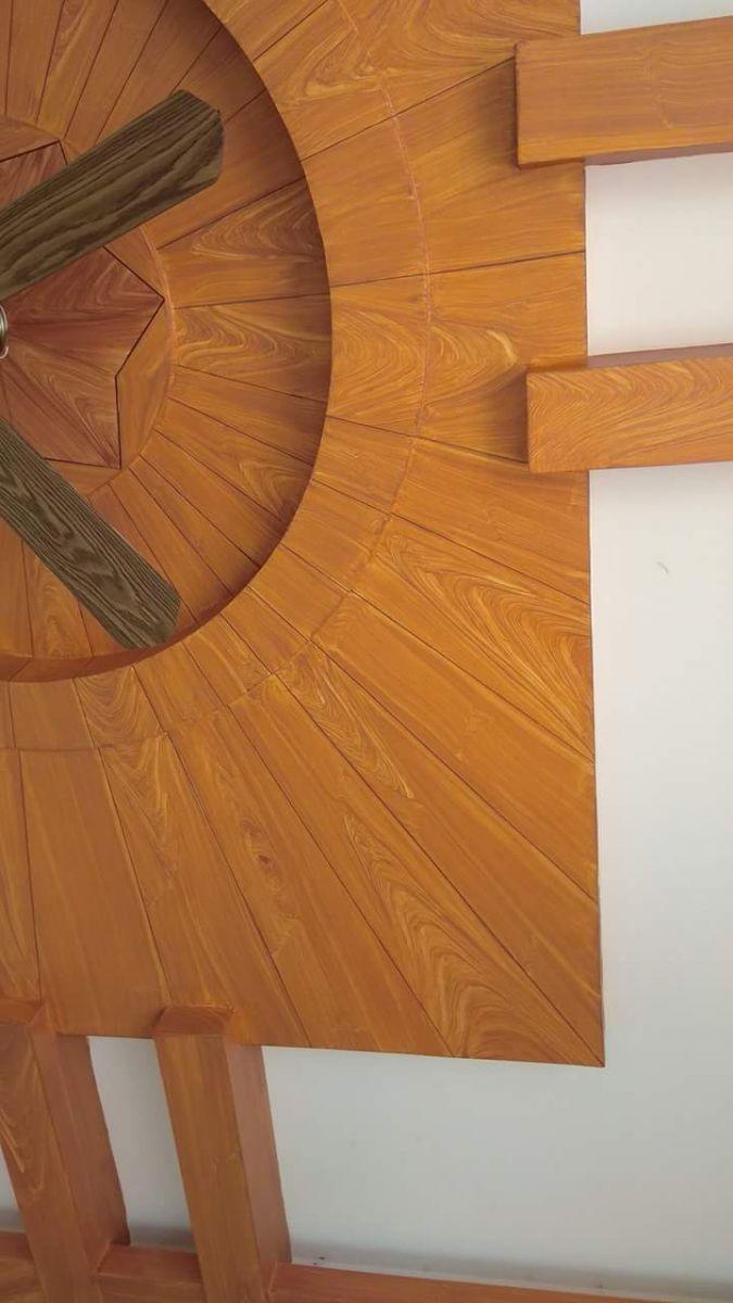 trần giả gỗ