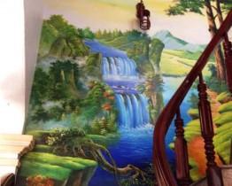 vẽ tranh tường tại vũng tàu-tranh tường 3d